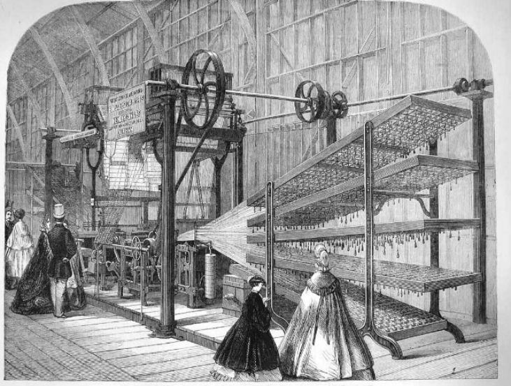 history of weaving